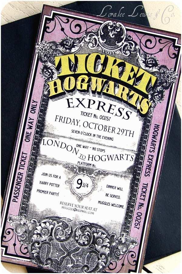 Harry Potter Party Invitations Splendid Design are You A Harry Potter Fan