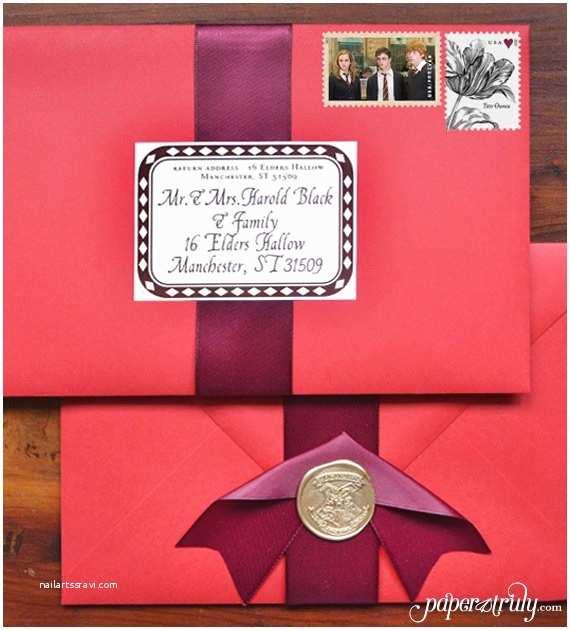 Harry Potter Wedding Invitations 50 Best Harry Potter Ideas for Weddings