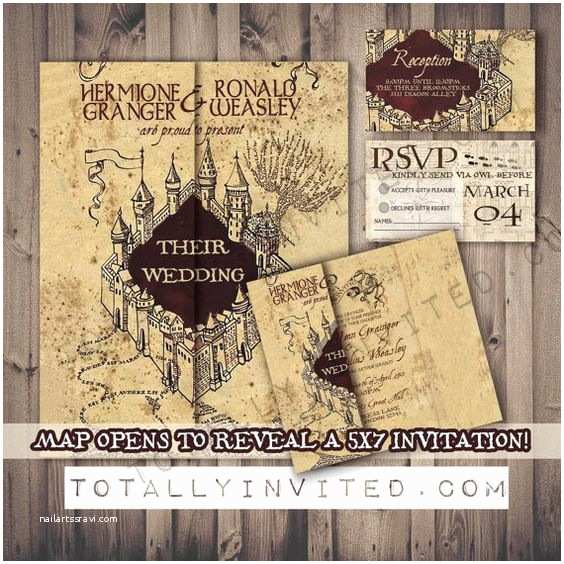 Harry Potter Wedding Invitations Wedding Geek Culture and Harry Potter On Pinterest