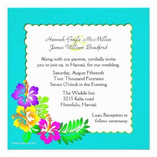 Hawaii  Invitations 1 000 Hawaiian  Invitations Hawaiian
