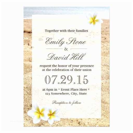 Hawaii Wedding Invitations Beach Wedding Invitations 10 000 Beach Wedding