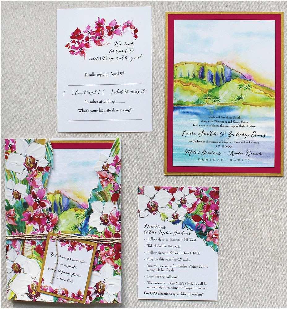 Hawaii Wedding Invitations Hawaiian Wedding Invitations Hawaiian Wedding Invitations
