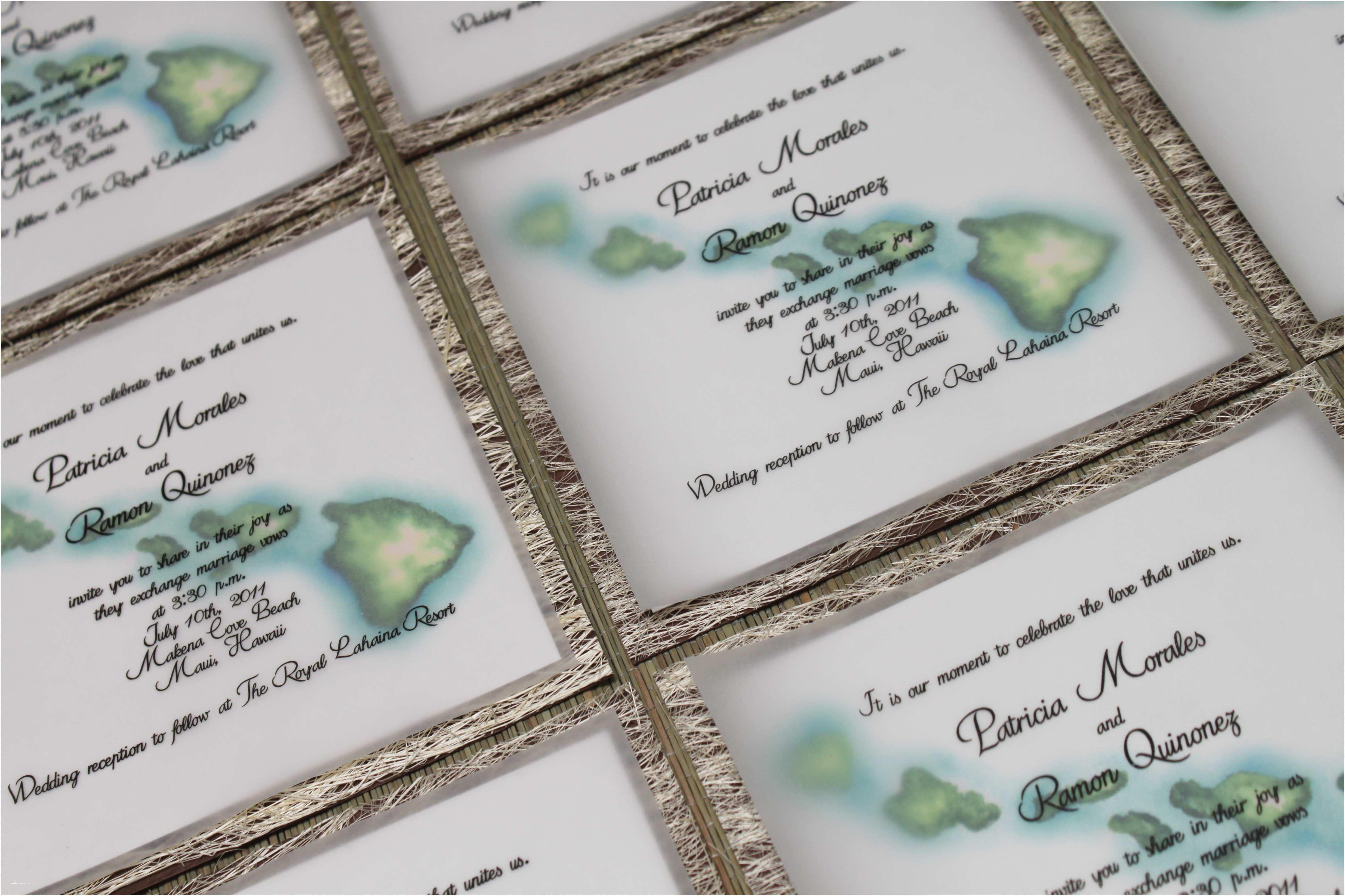 Hawaii Wedding  Tropical Wedding