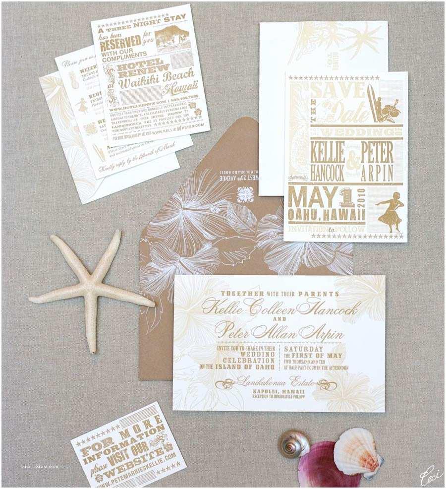 Hawaiian Wedding Invitations Imposing Hawaiian Wedding Invitations