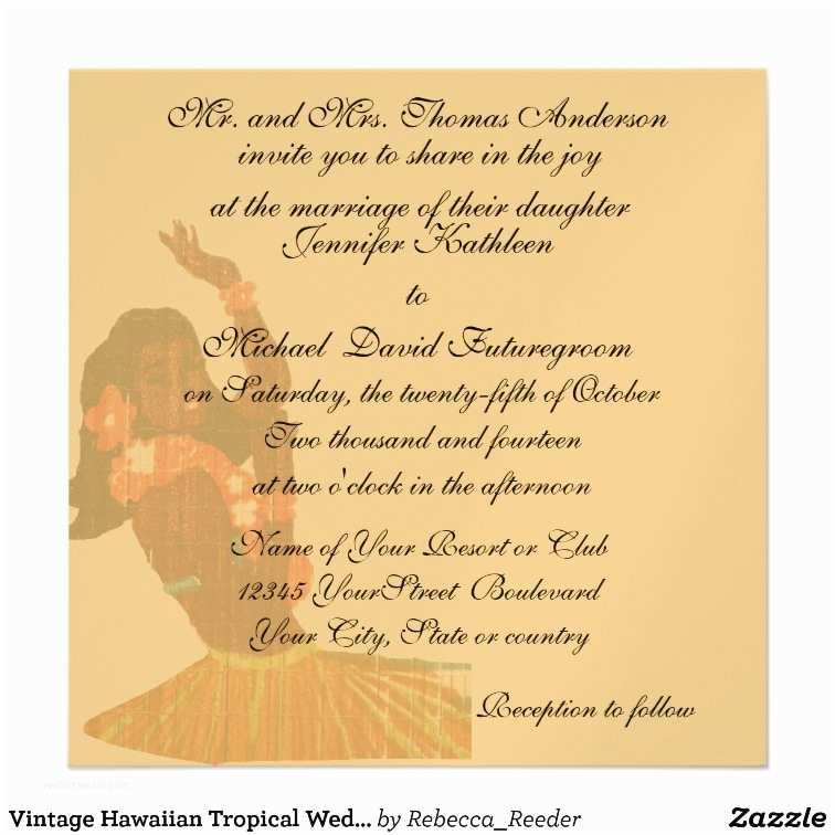 Hawaiian Wedding Invitations Vintage Hawaiian Wedding Invitations 140 Vintage Hawaiian