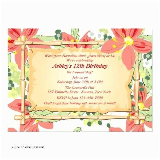 Hawaiian Wedding Invitations Wedding Invitation Unique Hawaiian Wedding Invitation
