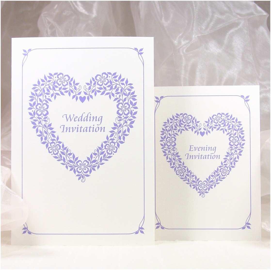 Heart Wedding Invitations Sarah O Neill Designs