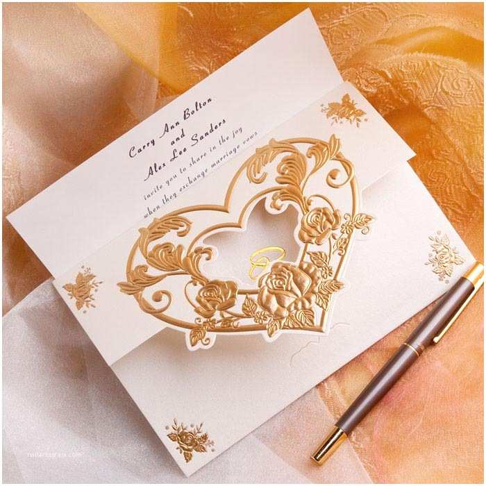 Heart Wedding Invitations top 10 Wedding Colors Ideas and Wedding Invitations for