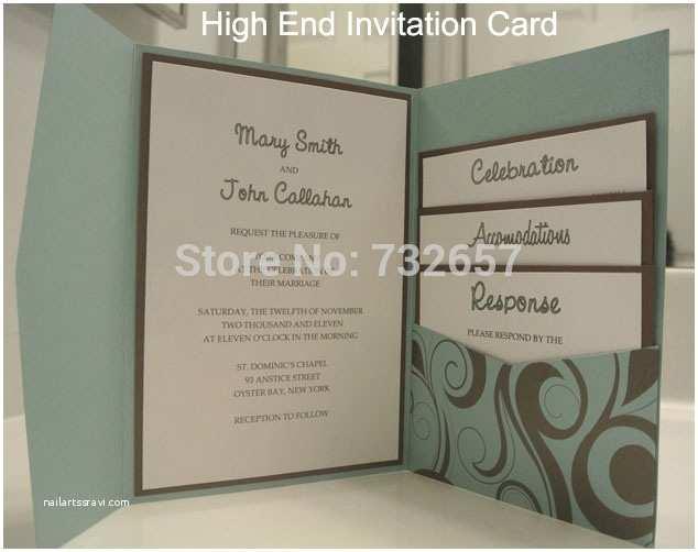 High End Wedding Invitations High End Wedding Invitations Purple Blue Gold Pink Elegant