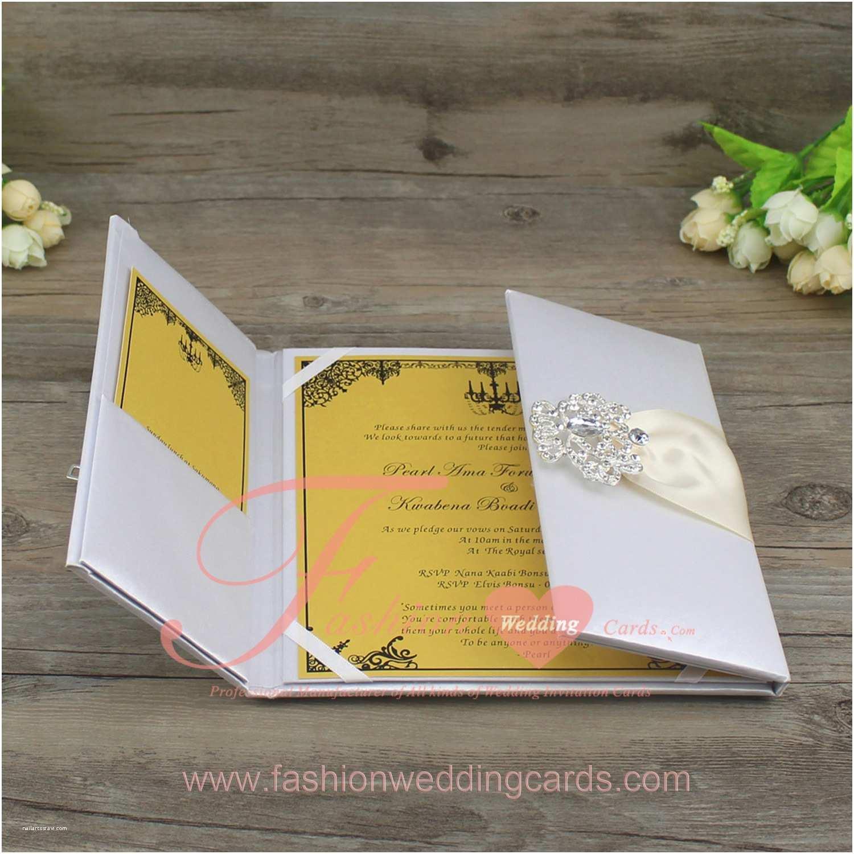 High End Wedding Invitations Silk Wedding Invitation Folio