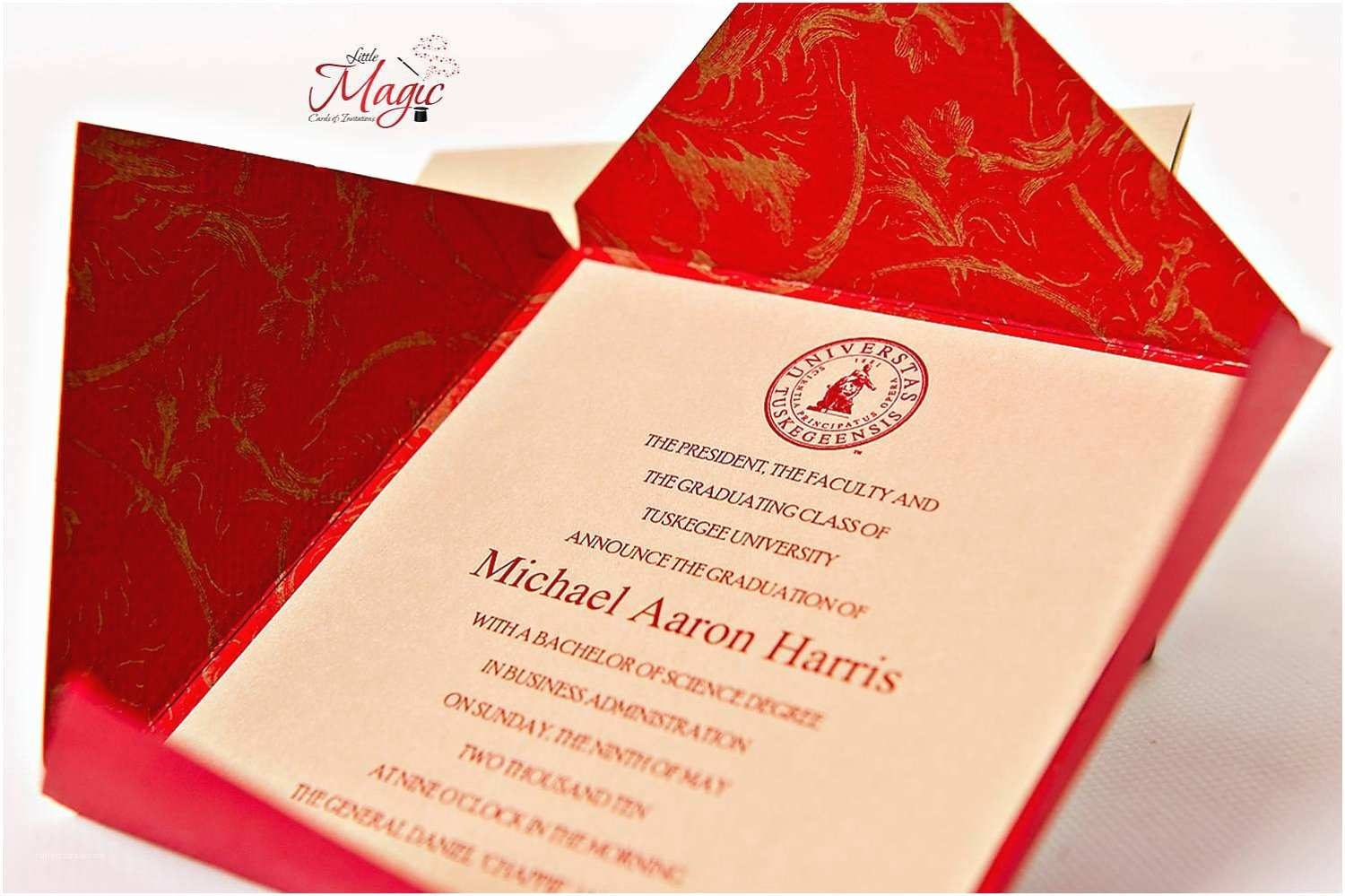 High School Graduation Invitations Fabulous Traditional High School Graduation Announcements
