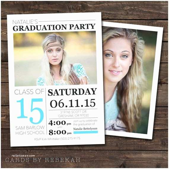 High School Graduation Invitations High School Graduation Announcement & Invitation by