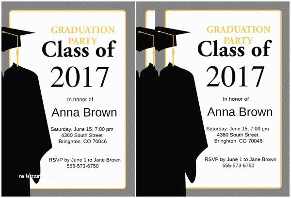 High School Graduation Invitations Sample Graduation Invitations
