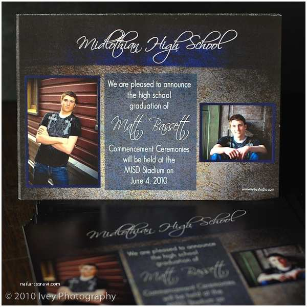 High School Graduation Invitations Senior Graduation Announcements