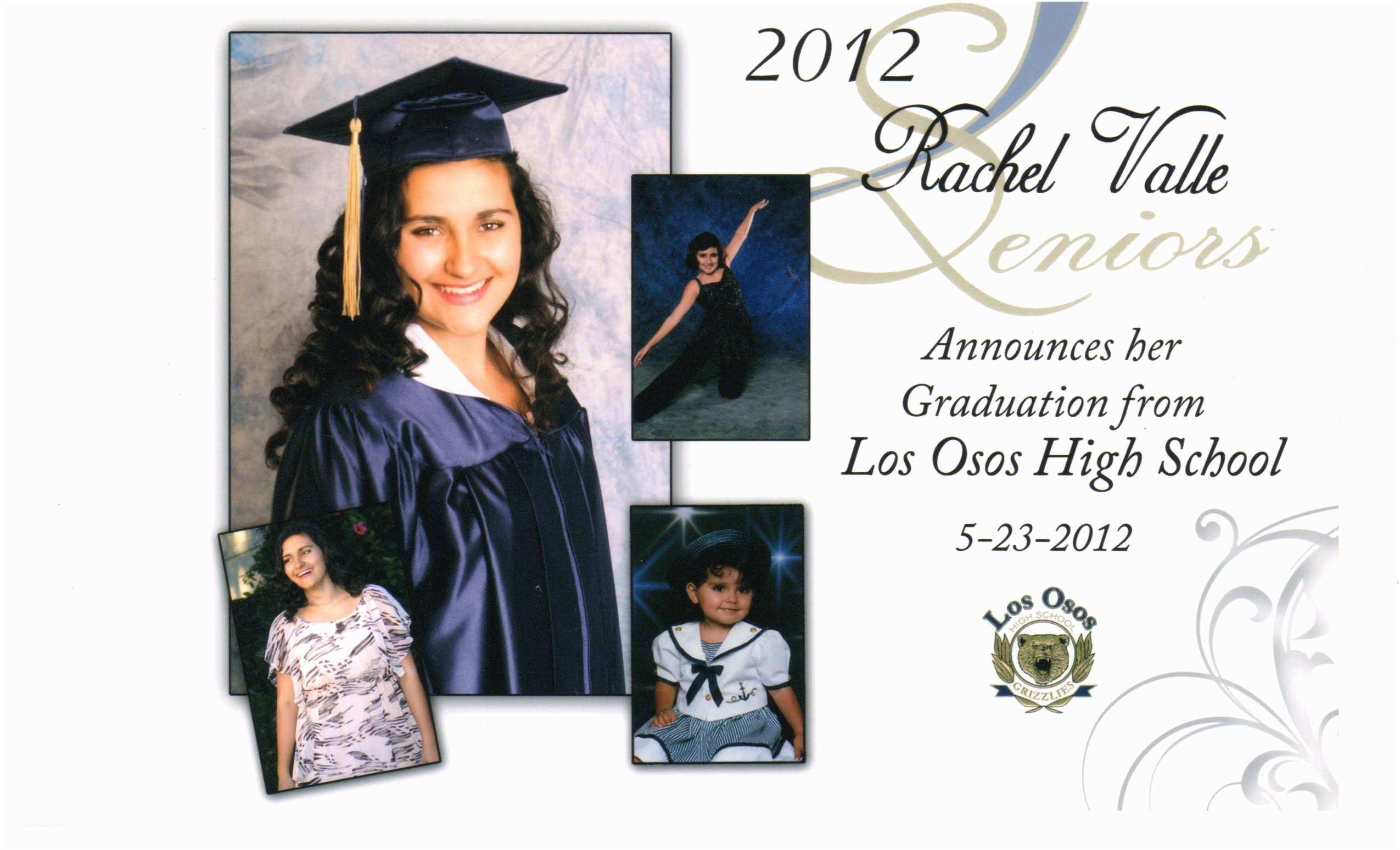 High School Graduation Invitations Templates for Traditional High School Graduation