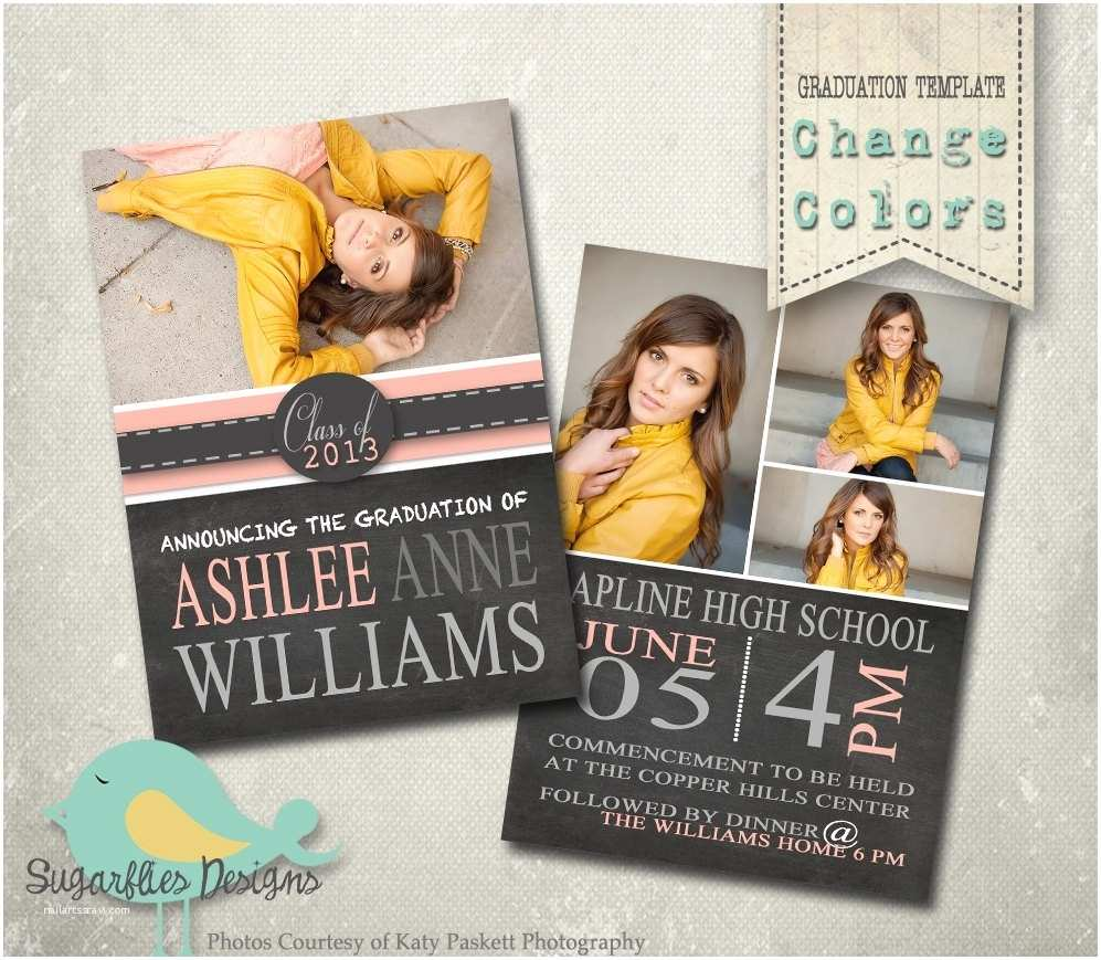 unique graduation invitations template