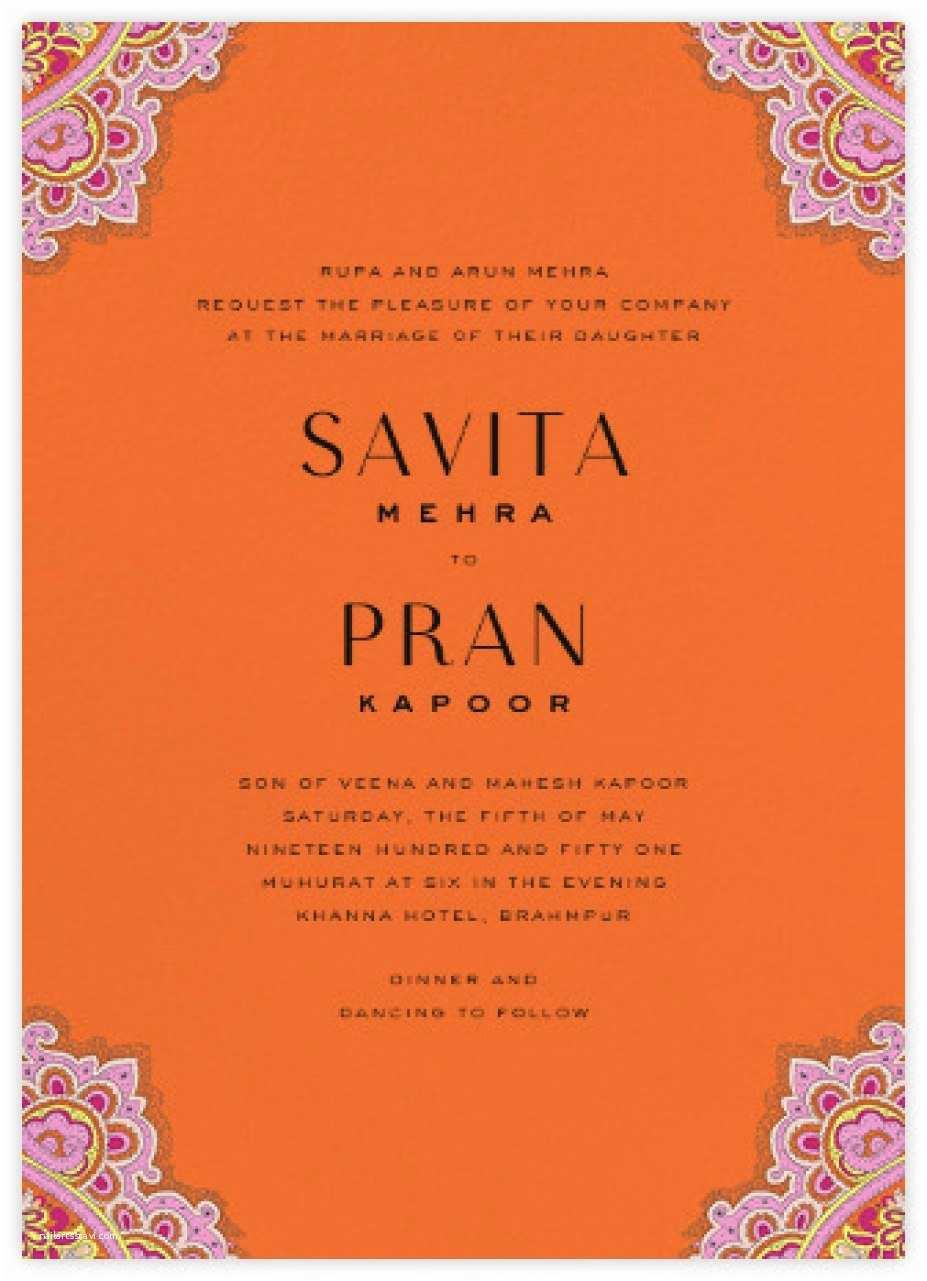 1377 indian wedding invitations