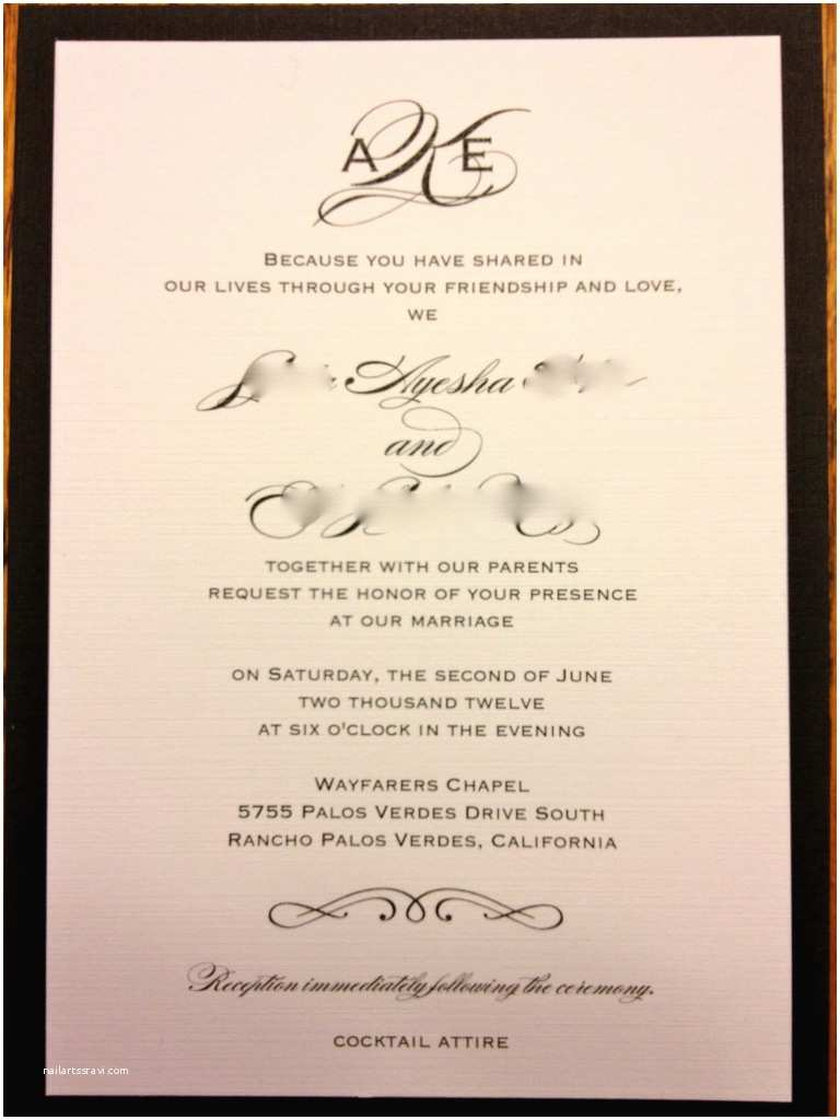 Hindu Wedding Invitations Hindu Wedding Invitation Wording for Friends Card – Mini
