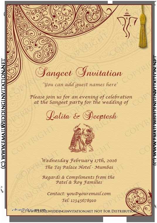 Hindu Wedding Invitations Indian Wedding Reception Card Design Wedding Invitation