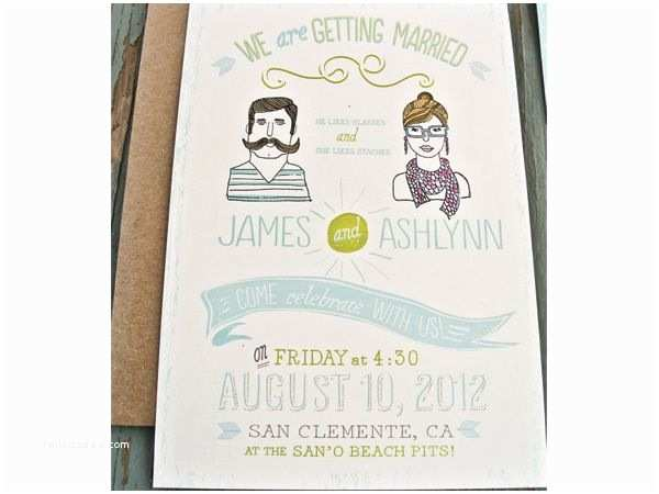 Hipster Wedding Invitations 41 Best Wedding Hipster Images On Pinterest