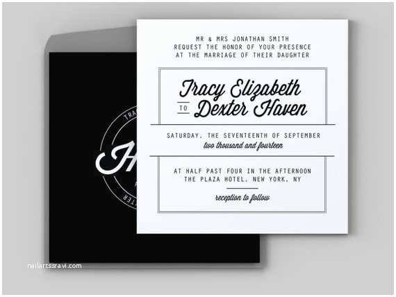 Hipster Wedding Invitations Hipster Badge Wedding Invitation Custom Printable by