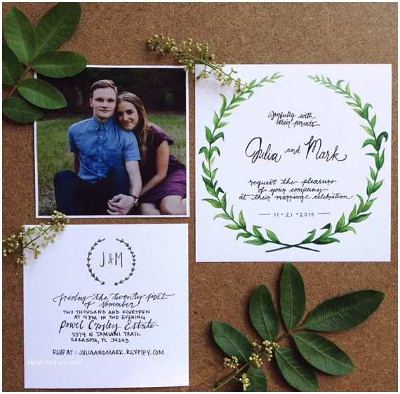 Hipster Wedding Invitations Items Similar to Boho Hipster Earthy Wedding Invitations