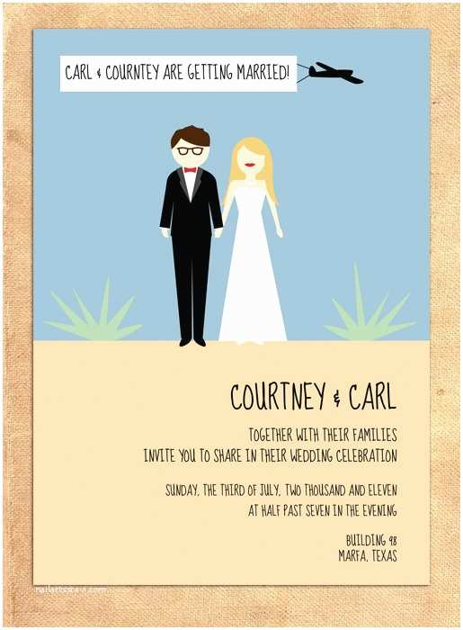 Hipster Wedding Invitations Items Similar to Hipster Wedding Invitation A8 On Etsy
