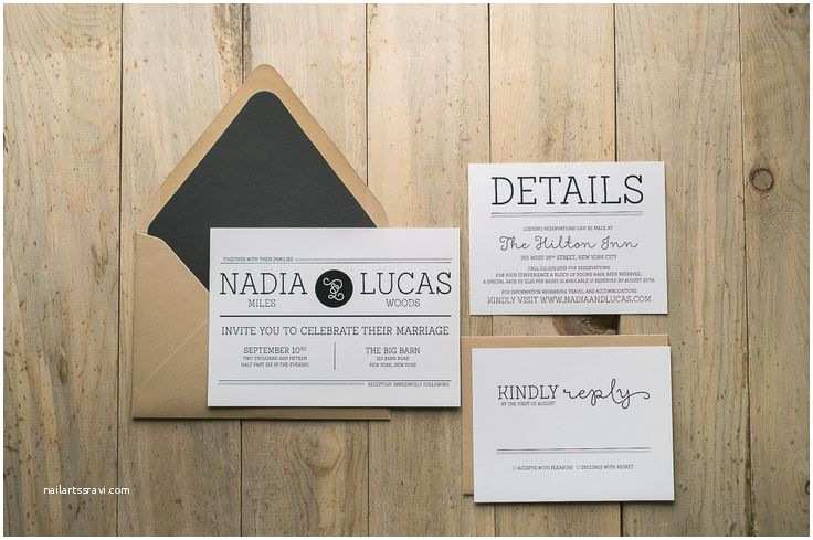 Hipster Wedding Invitations Nadia Suite Styled Rustic Package