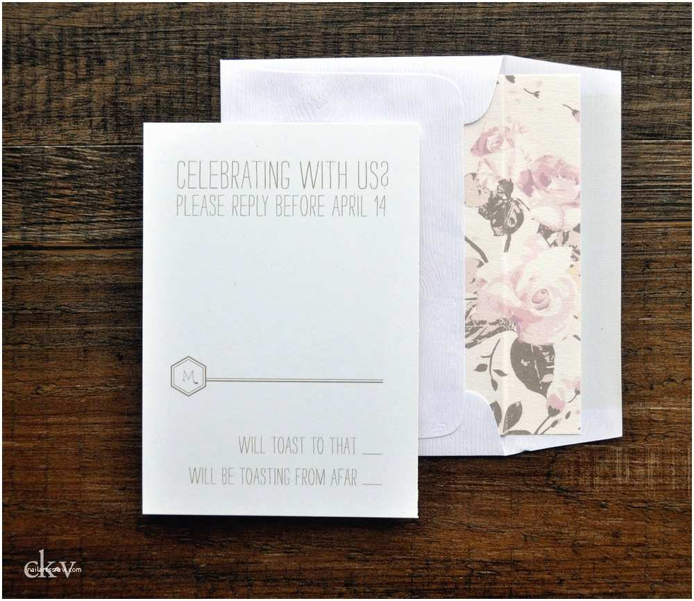 Hipster Wedding Invitations the asylum