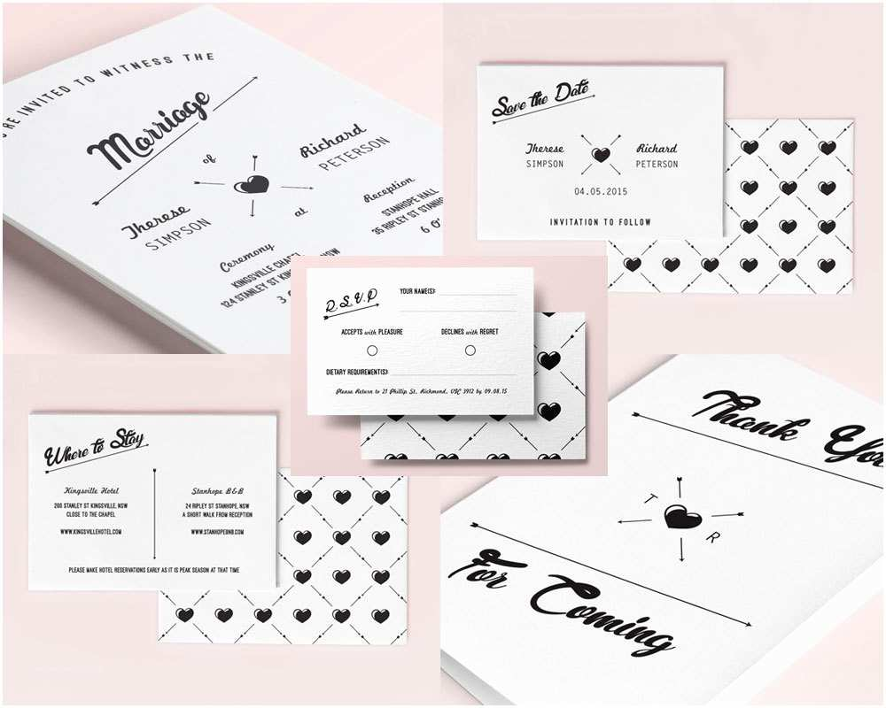 Hipster Wedding Invitations What is the Perfect Wedding Invitation for Your Big Day