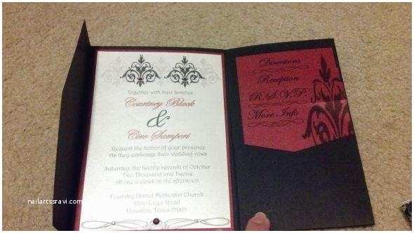 Hobby Lobby Wedding Invitation  Hobby Lobby Invitation
