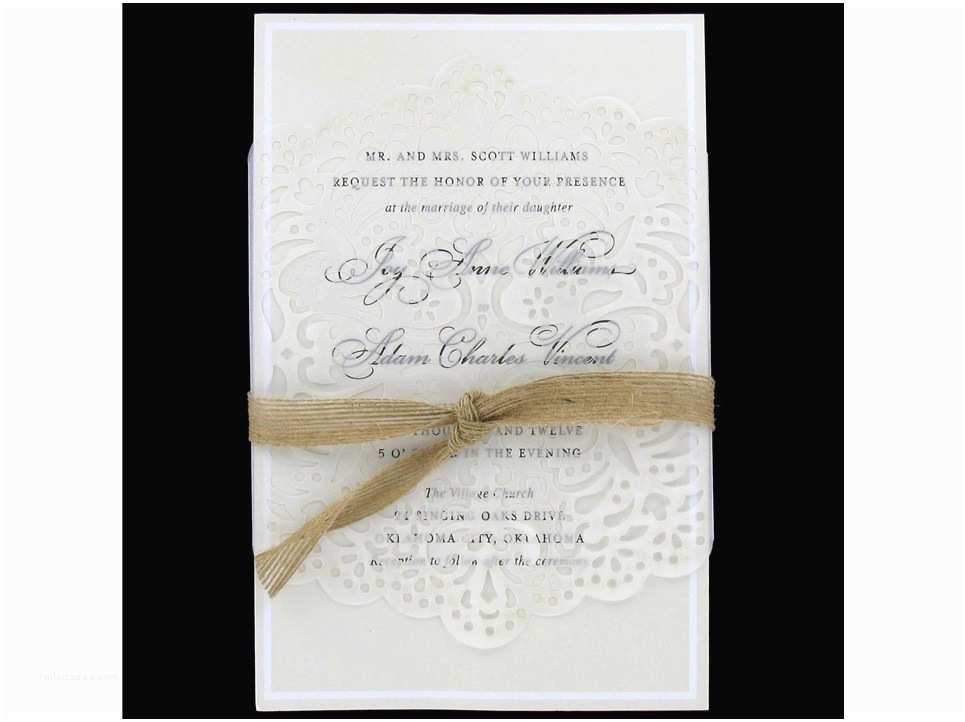 Hobby Lobby Wedding Invitation  Wedding Invitation Wording Wedding Invitation