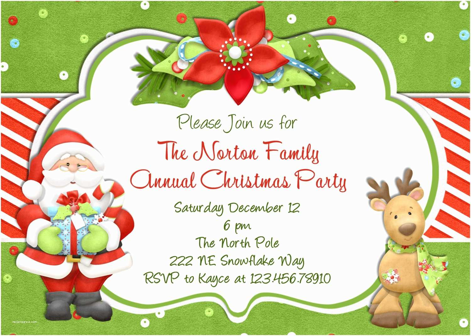 Holiday Party Invitation Christmas Party Invitation Christmas Holiday Party