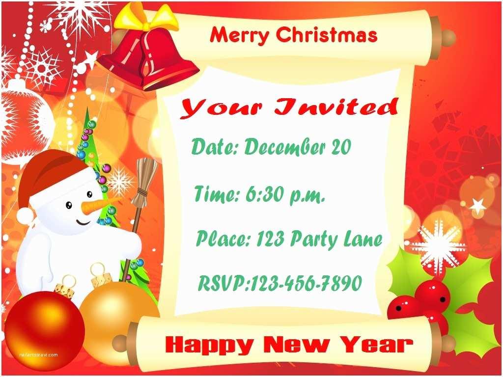 Holiday Party Invitation Christmas Party Invitations