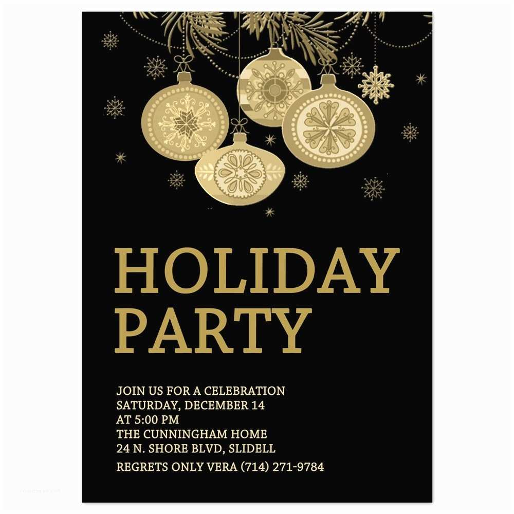 Holiday Party Invitation Holiday Party Invite Templates