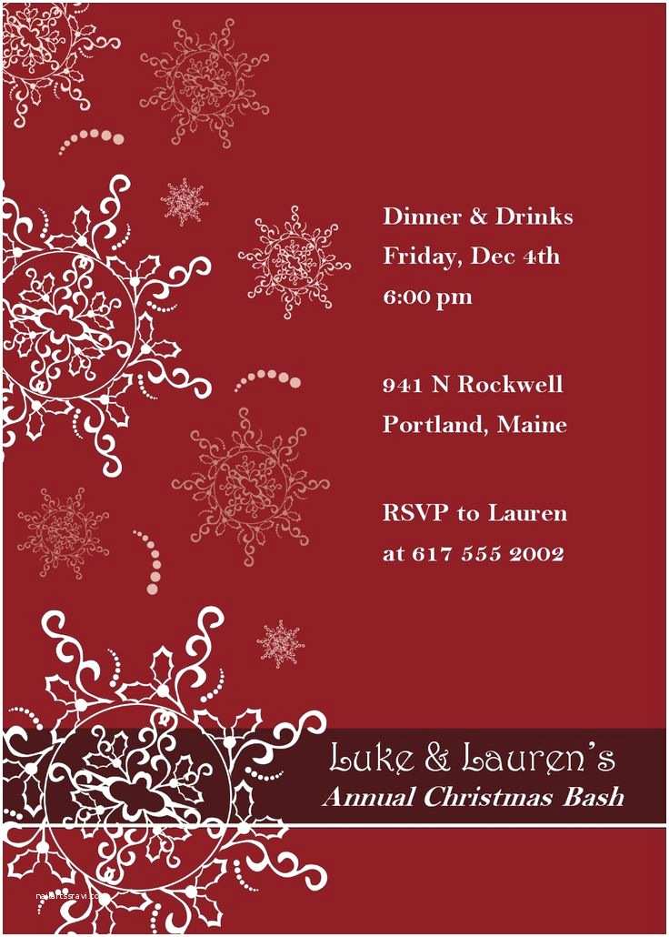 Holiday Party Invitation Template Free 16 Best Images About Invitation Templates On Pinterest