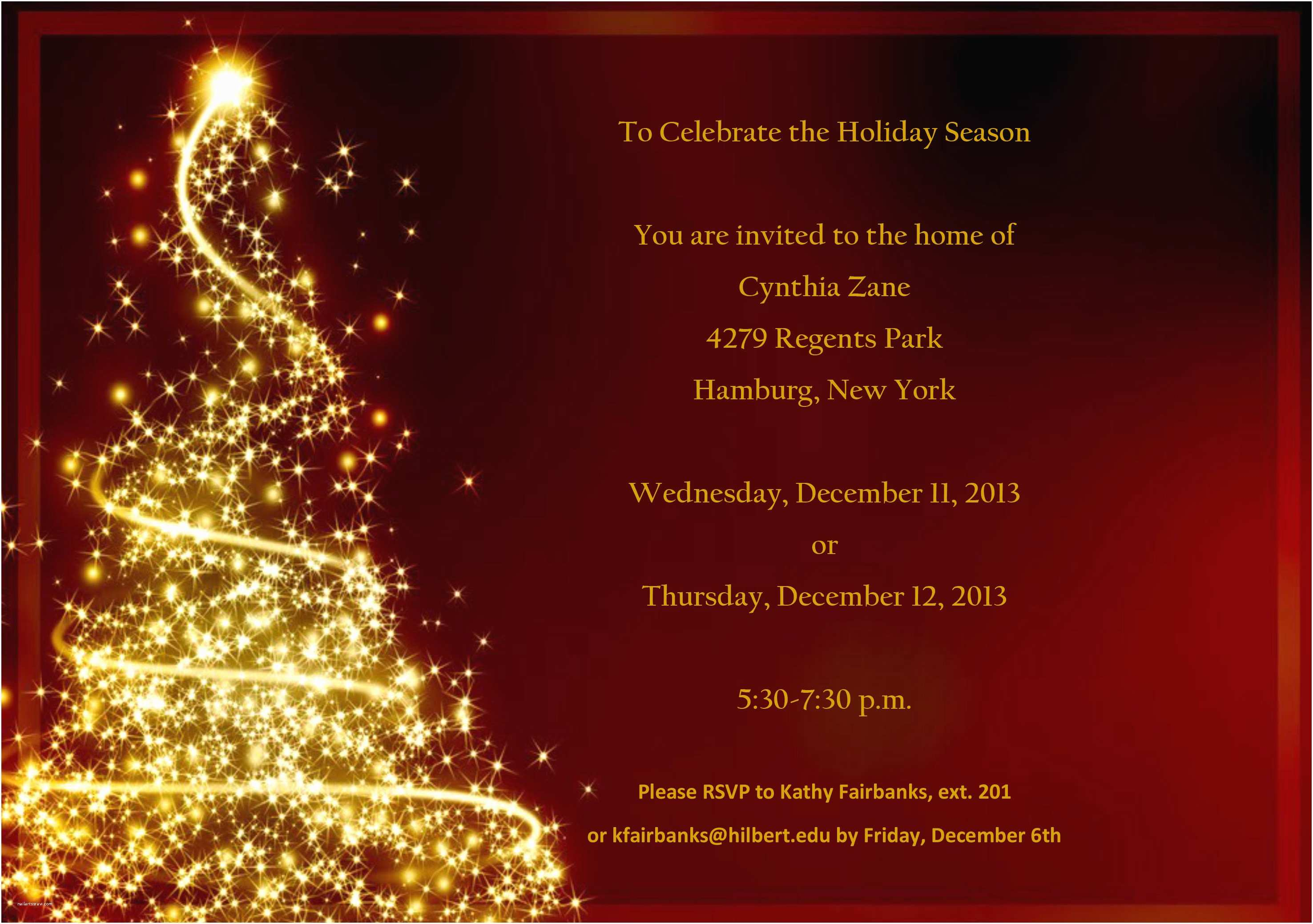 Holiday Party Invitation Template Free Christmas Party Invitation Templates Free Download