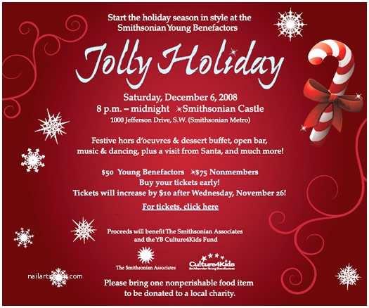 Holiday Party Invitation Template Free Season Holiday Invitation