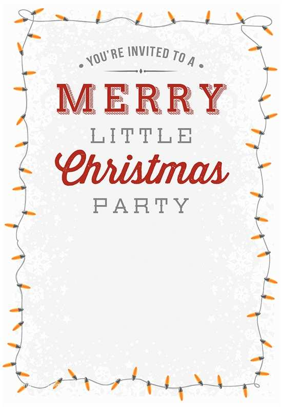 Holiday Party Invitation Wording Examples Christmas Invitation Templates