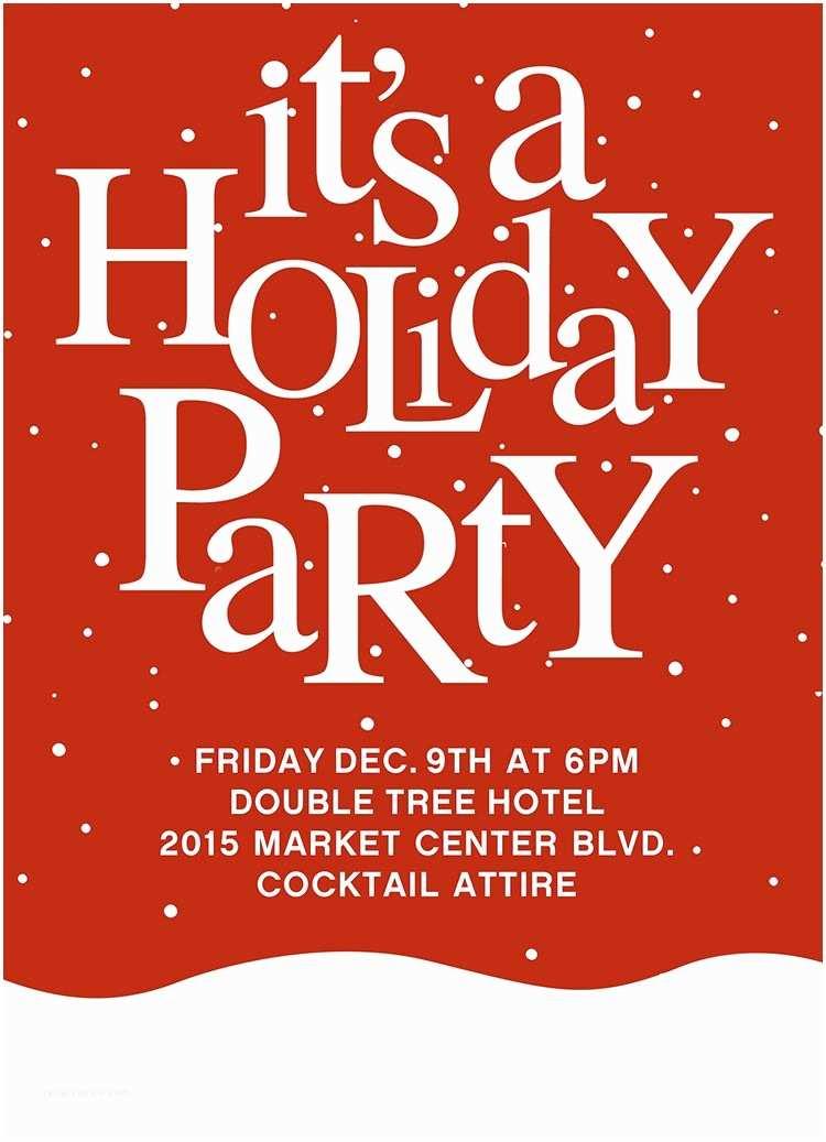 Holiday Party Invitations Holiday Party Invitations