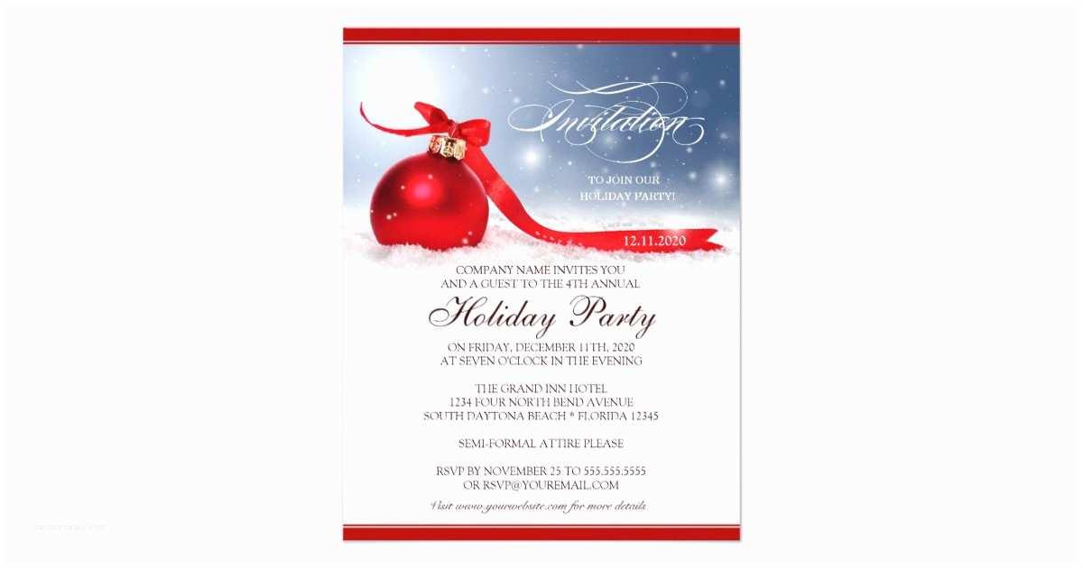 Holiday Party Invitations Pany Christmas Party Invitations – Gangcraft