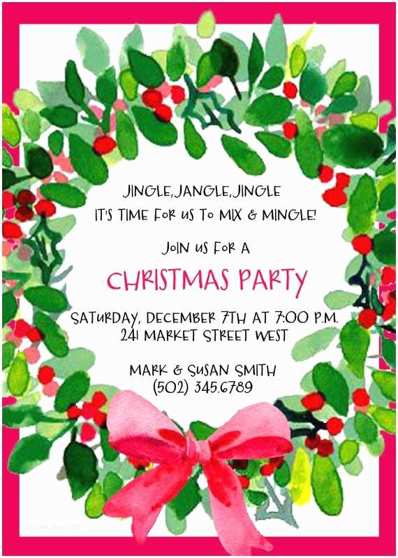 Holiday Party Invitations Templates Best 25 Christmas Party Invitations Ideas On Pinterest