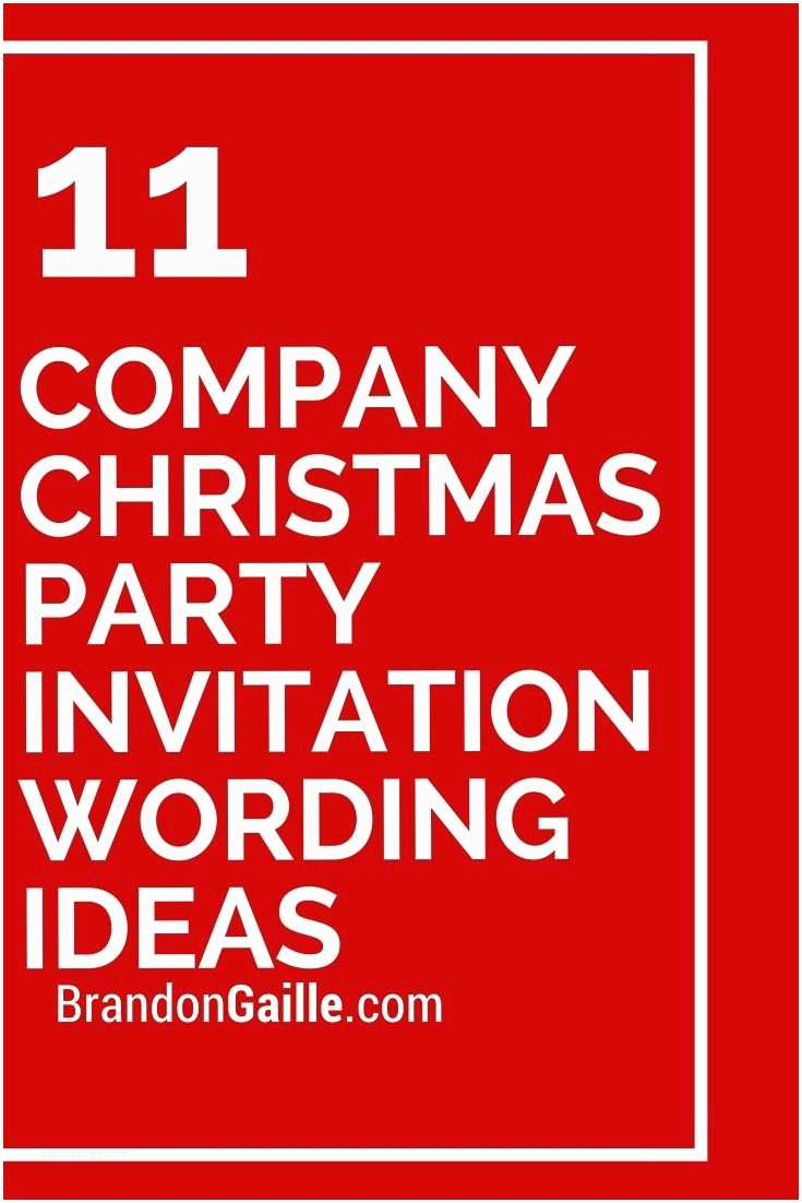 Holiday Party Invite Wording 11 Pany Christmas Party Invitation Wording Ideas