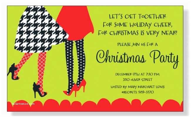Holiday Party Invite Wording Christmas Party Invitation Ideas Best Christmas Party