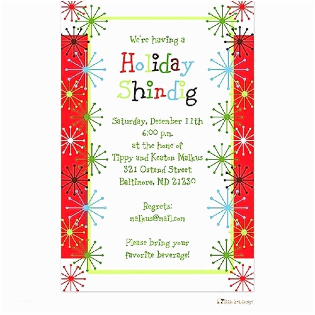 Holiday Party Invite Wording Funny Fice Christmas Party Invitation Wording