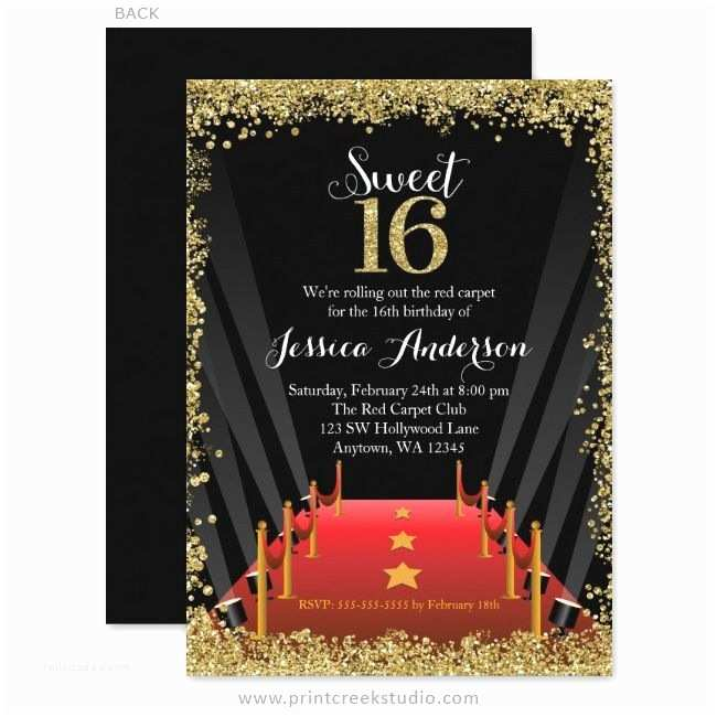 Hollywood Party Invitations 25 Best Ideas About Hollywood Invitations On Pinterest