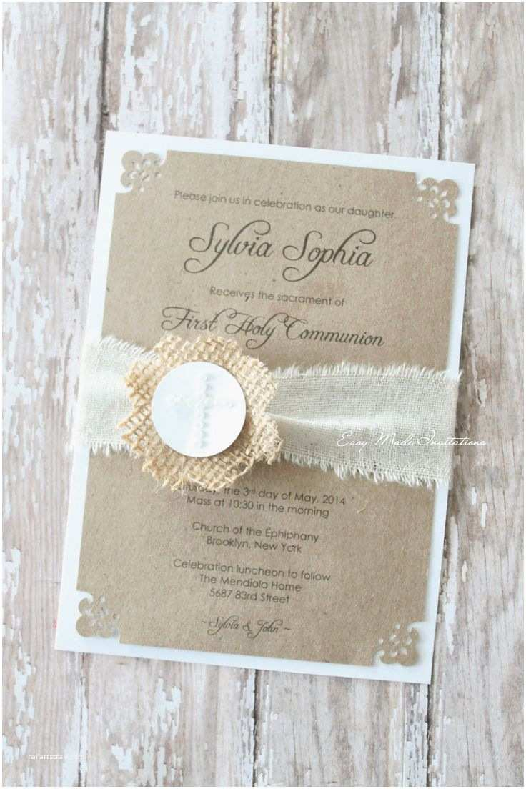 Holy Communion Invitations Best 25 First Munion Invitations Ideas On Pinterest