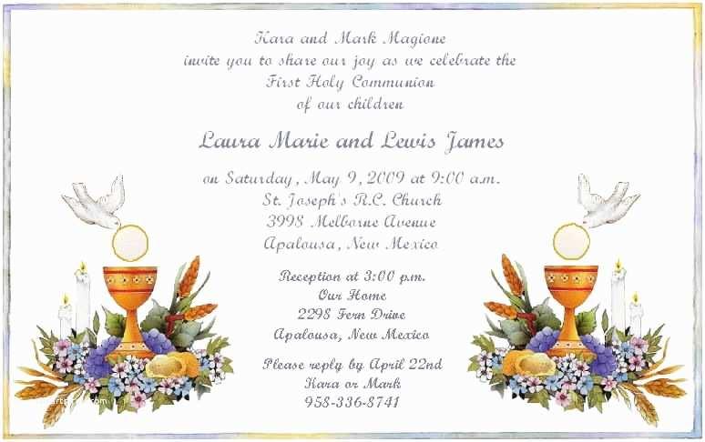 Holy Communion Invitations Card Invitation Ideas First Holy Munion Invitation