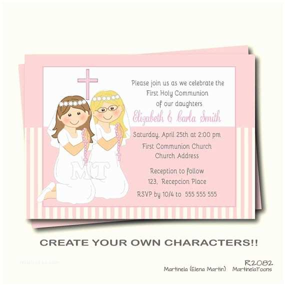 Holy Communion Invitations Munion Invitation Wording