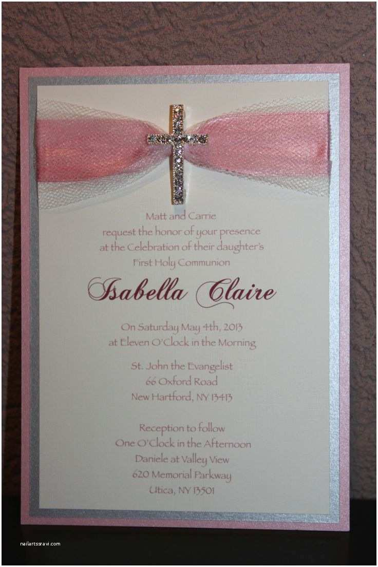 Holy Communion Invitations Munion Invitations First Holy Munion Invites